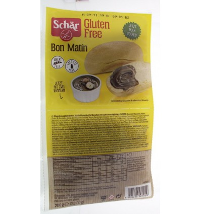 Schär Bon matin zoete broodjes 200 gram | € 2.75 | Superfoodstore.nl