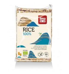 Lima Rijstwafels zout dun recht 130 gram | € 1.38 | Superfoodstore.nl