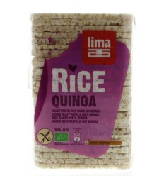 Lima Rijstwafels recht dun quinoa 130 gram | € 1.38 | Superfoodstore.nl