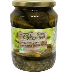 Bionova Augurken zoet zuur 670 gram | € 3.16 | Superfoodstore.nl