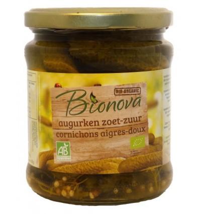Bionova Augurken zoet zuur 330 gram kopen