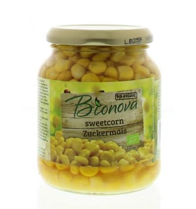 Bionova Suikermais 340 gram | € 1.67 | Superfoodstore.nl