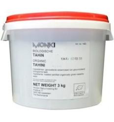 Monki Tahin zonder zout eko 3 kg | € 32.54 | Superfoodstore.nl