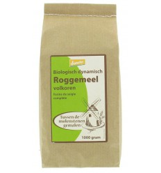 Hermus Roggemeel volkoren demeter 1 kg | € 3.56 | Superfoodstore.nl
