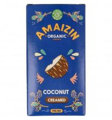Amaizin Kokoscreme 200 gram   € 1.93   Superfoodstore.nl