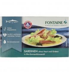 Fontaine Sardines zonder huid en graat 120 gram | € 3.52 | Superfoodstore.nl