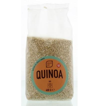 Greenage Quinoa wit 400 gram