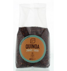 Greenage Quinoa zwart 400 gram | € 4.18 | Superfoodstore.nl