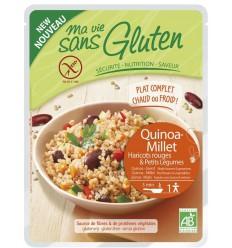 Ma Vie Sans Quinoa gierst rode boon groente 220 gram   € 2.39   Superfoodstore.nl