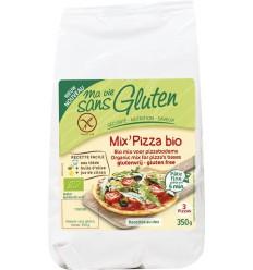 Ma Vie Sans Mix voor pizzabodem 350 gram   € 3.46   Superfoodstore.nl