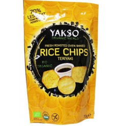 Yakso Rice chips teriyaki 70 gram | € 1.65 | Superfoodstore.nl