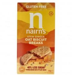 Nairns Biscuit breaks ginger 160 gram   € 2.42   Superfoodstore.nl