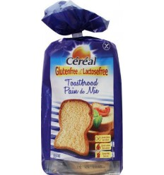 Cereal Brood toast glutenvrij 350 gram | € 3.97 | Superfoodstore.nl