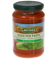 Bioidea Pastasaus basilicum 340 gram | € 2.40 | Superfoodstore.nl