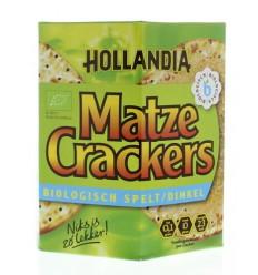 Hollandia Matzes Matze cracker spelt 100 gram   € 1.91   Superfoodstore.nl