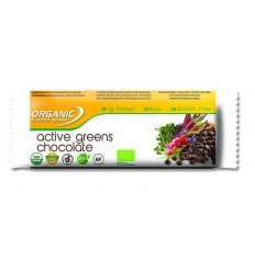 Organic Food Bar Bar active greens chocolade 68 gram | € 3.20 | Superfoodstore.nl