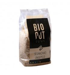 Bionut Sesamzaad ongepeld eko 500 gram | € 3.18 | Superfoodstore.nl
