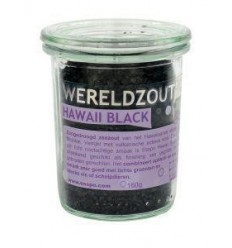 Esspo Wereldzout Hawaii Black glas 160 gram | € 7.70 | Superfoodstore.nl