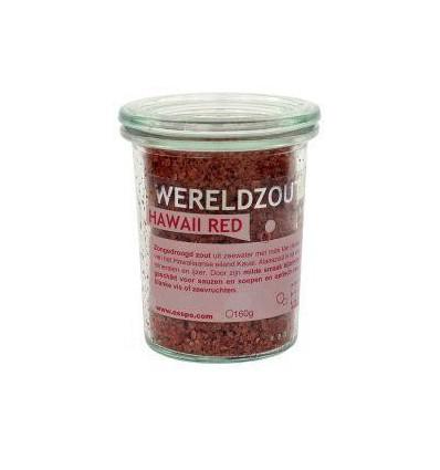 Esspo Wereldzout Hawaii Red glas 160 gram | € 7.70 | Superfoodstore.nl