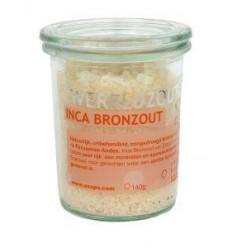 Esspo Wereldzout Inca Bronzout glas 140 gram | € 6.84 | Superfoodstore.nl