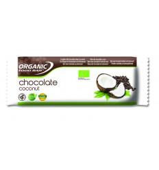Organic Food Bar Bar chocolade kokosnoot 50 gram | € 2.75 | Superfoodstore.nl
