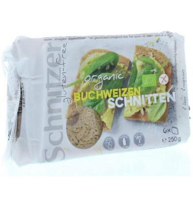 Schnitzer Boekweitbrood glutenvrij 250 gram