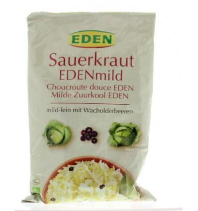 Eden Zuurkool mild (zakje) 500 gram | € 2.37 | Superfoodstore.nl