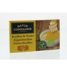 Natur Compagnie Kippenbouillon 8 blokjes 88 gram | € 1.85 | Superfoodstore.nl