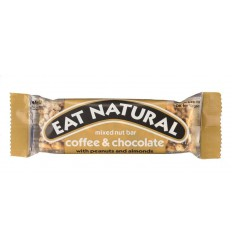 Eat Natural Coffee chocolate peanut 45 gram | € 1.38 | Superfoodstore.nl