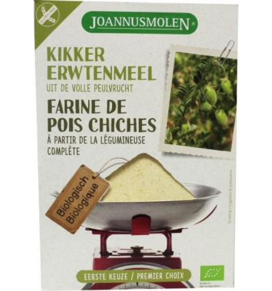 Joannusmolen Kikkererwtenmeel eerste keuze 275 gram kopen