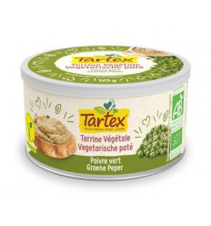 Tartex Pate groene peper 125 gram | € 2.75 | Superfoodstore.nl
