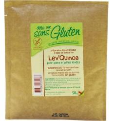 Ma Vie Sans Zuurdesem quinoa glutenvrij 50 gram   € 2.36   Superfoodstore.nl