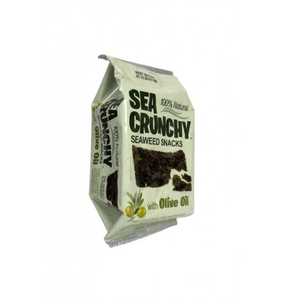 Sea Crunchy Nori zeewier snack met olijf olie 10 gram