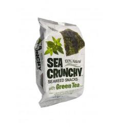 Sea Crunchy Nori zeewier snacks groene thee 10 gram | € 2.04 | Superfoodstore.nl