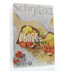 Schnitzer Black forest teff 500 gram | € 4.84 | Superfoodstore.nl