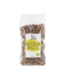 Nice & Nuts Hazelnoten 1 kg | € 18.38 | Superfoodstore.nl