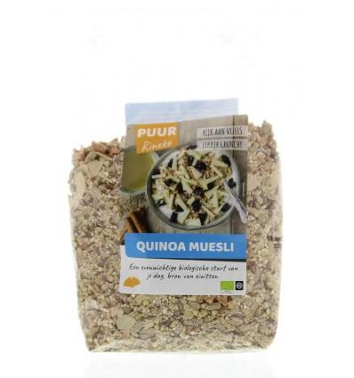 Puur Rineke Quinoa muesli bio 600 gram