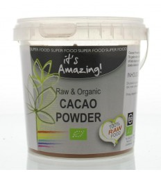It'S Amazing Raw & organic cacao poeder 300 gram | € 8.79 | Superfoodstore.nl