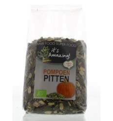 It'S Amazing Pompoenpitten bio 500 gram | € 4.39 | Superfoodstore.nl