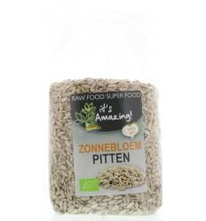 It'S Amazing Zonnebloempitten bio 500 gram   € 2.63   Superfoodstore.nl