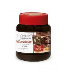 De Rit Chocoreale chocopasta puur met rietsuiker 350 gram | € 4.18 | Superfoodstore.nl