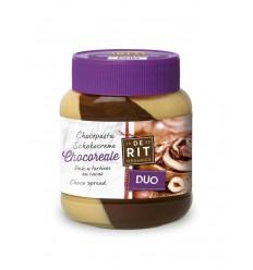 De Rit Chocoreale duopasta rietsuiker 350 gram | € 4.18 | Superfoodstore.nl