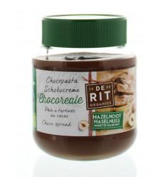 De Rit Chocoreale hazelnootpasta rietsuiker 350 gram | € 4.36 | Superfoodstore.nl
