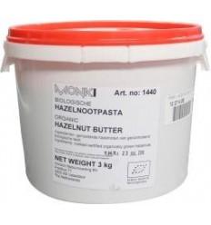 Monki Hazelnootpasta eko 3 kg | € 61.98 | Superfoodstore.nl