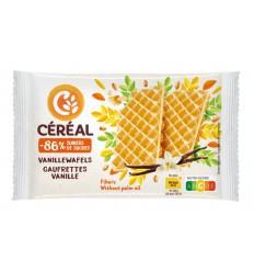 Cereal Vanillewafels suikervrij maltitol 90 gram | € 1.96 | Superfoodstore.nl