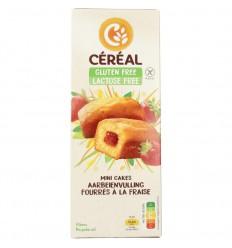 Cereal Aardbei cakeje glutenvrij 210 gram | € 3.97 | Superfoodstore.nl
