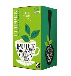 Clipper Green tea bio 20 zakjes | € 2.54 | Superfoodstore.nl