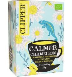 Clipper Calmer camelion bio 20 zakjes | € 2.66 | Superfoodstore.nl