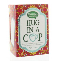 Natural Temptation Hug in a cup thee eko 18 zakjes   € 3.17   Superfoodstore.nl