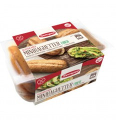 Semper Mini baguettes fibre 6 stuks | € 5.60 | Superfoodstore.nl